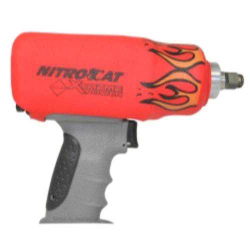 Aircat 1200-KBR Nitrocat Red Flame Impact Boot For 1200-k