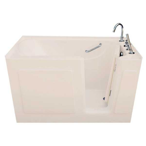 Signature Bath Biscuit Acrylic 47 x 30-inch Walk-in Air Bath
