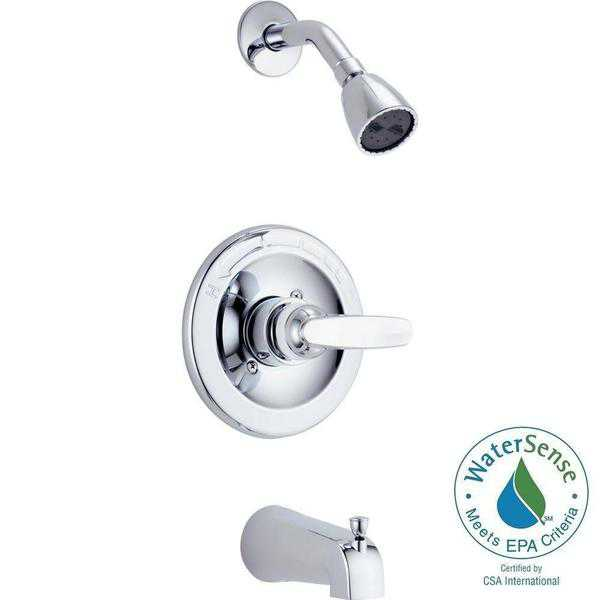 Delta Foundations Monitor 13 Series Tub & Shower Trim BT13410 Chrome