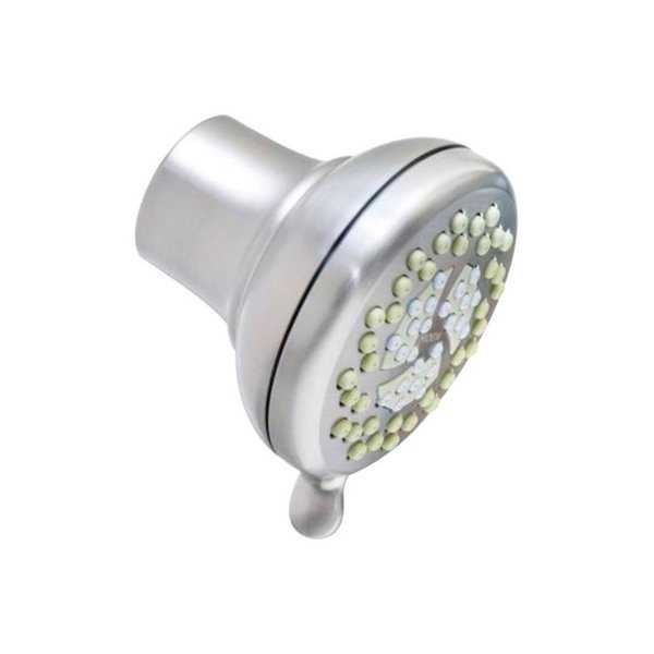 Moen Nurture Brushed Nickel 3 settings Showerhead 1.75 gpm