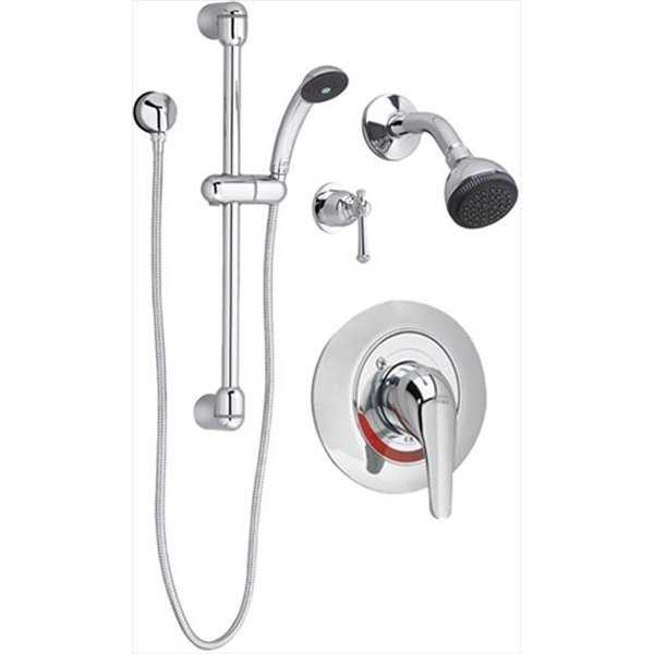 Commercial Shower System Kit - 2.5 Gpm - Polished Chrome