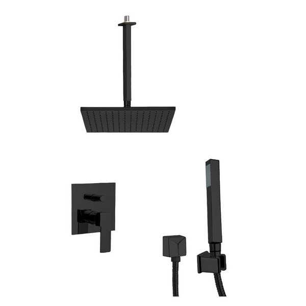 Nameeks SFH6508 Remer Shower System with Multi Function Rain Shower Head, Hand Shower, Hand Shower Holder, and Rough In