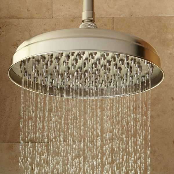Signature Hardware 926430-17 17' Lambert 1.9 GPM Single Function Rain Shower Head - N/A