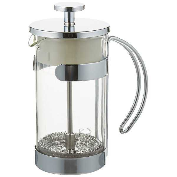 Norpro N6U-5581 2 Cup Chrome Coffee & Tea Press