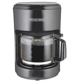 Proctor 48351 BLK 10 Cup Coffee Maker - Black pack of 2