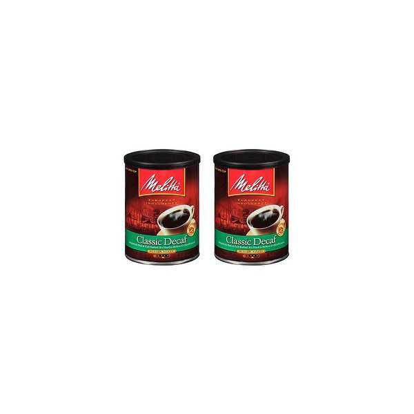 Melitta Classic Decaf (2-Pack) 10.5 Ounce Classic Decaf Coffee