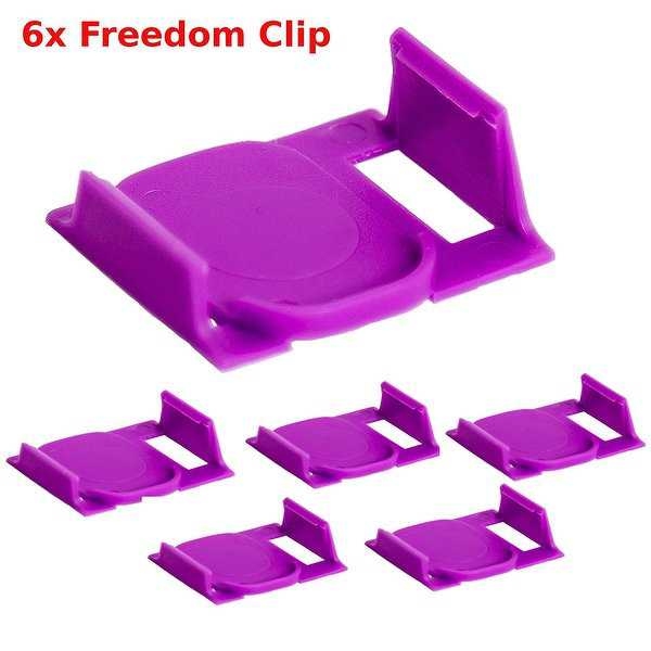 6X Freedom Clever Clips Brew Any K-Cup In your 2.0 Keurig Works in all 2.0 Models By Freedom Brew