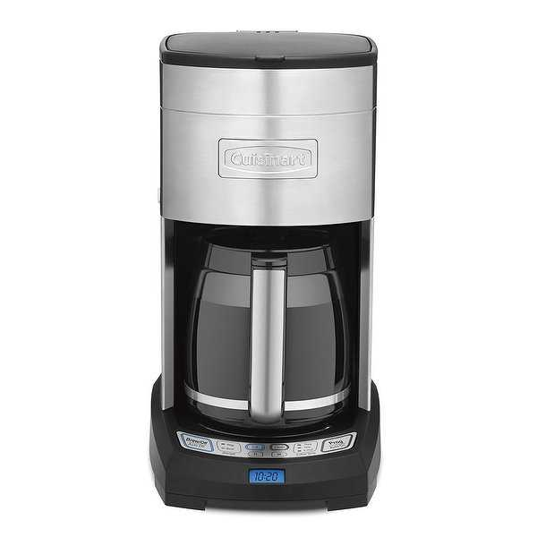 Cuisinart DCC-3650FR Elite 12-Cup Coffeemaker, Stainless Steel, Certified Refurbished